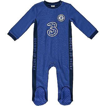 Chelsea FC bebê Sleepsuit
