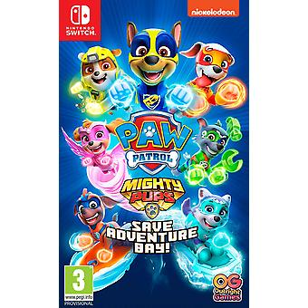 PAW Patrol Mighty Pups Save Adventure Bay Nintendo Switch Game
