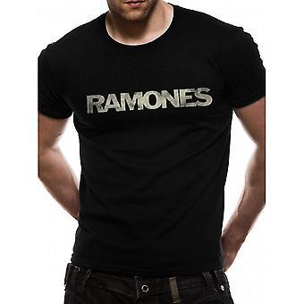 Camiseta de diseño de logotipos de adultos unisex Ramones