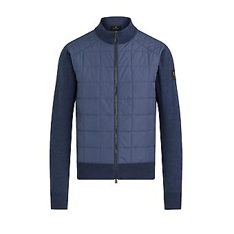 Belstaff New Kelby Zip Cardigan Racing Blue