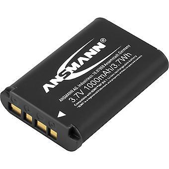 Sostituzione della batteria della telecamera Ansmann li-ion 3.7v per np-bx1 [confezione da 1] compatibile con sony e hasselb