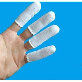 Disposable Cotton Finger Cots, Non-slip, Breathable, Protection Finger
