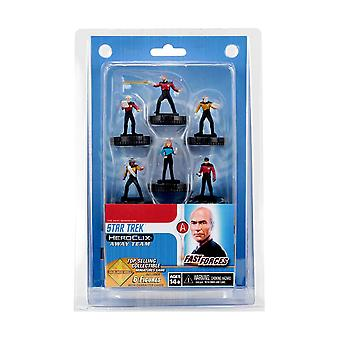 Star Trek HeroClix Away Team The Next Generation Fast Forces
