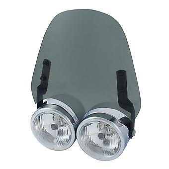 Airblade Screen For Dominator Headlight Light Smoked