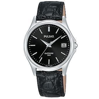Mens Watch Pulsar PXHA73X1, Quartz, 35mm, 5ATM