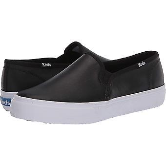 Keds Women's Double Decker Leather Sneaker
