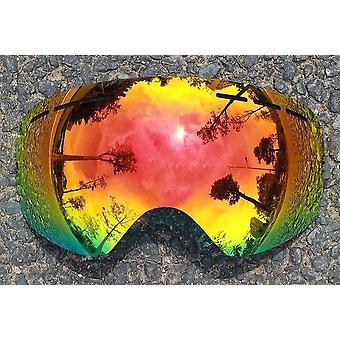 استبدال نظارات التزلج العدسات