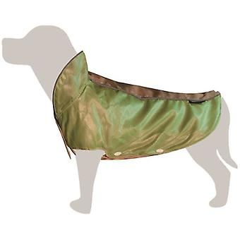 Arquivet Waterproof Green And Beige (Dogs , Dog Clothes , Raincoats)