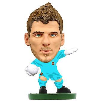 Espanja David De Gea SoccerStarz Figurine