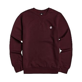 Element Cornell Sweatshirt in Vintage Red