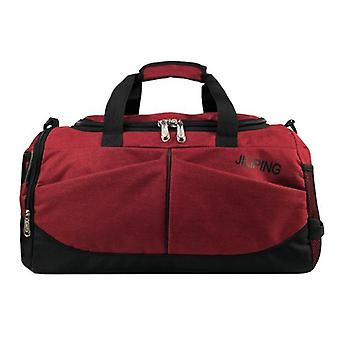 Women Luggage Sport Duffle Bags, Travel Folding Trip Shoulder Bag