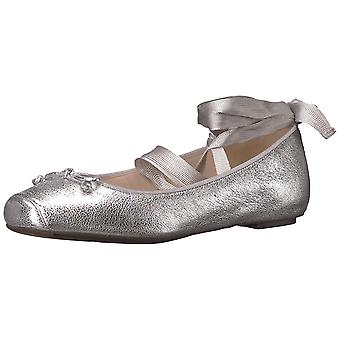 Cole Haan Womens Downtown Leather Square Toe Ballet Flats