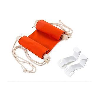 Hamac de pied pour le siège social, repos de pied sous le repos réglable portable de pied de hamac de bureau