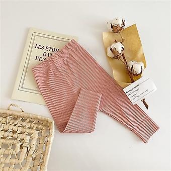 Baby Legging Cotton Ribbed Leggings Striped Pants Casual Trousers