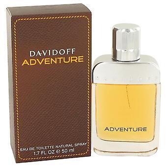 Davidoff Adventure Eau De Toilette Spray By Davidoff 1.7 oz Eau De Toilette Spray