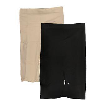 Yummie Shaper High Waist Shaping Short, 2-pack Black Shapewear