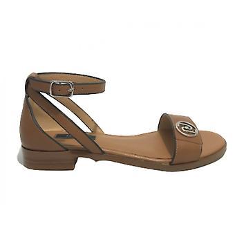 Women's Shoes Sandalwood Liu-jo Erin Leather Color Ds21lj19 Sa1047