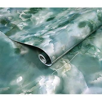 Waterproof Thickened Marble Pattern Adhesive Paper/ Refurbished Wallpaper