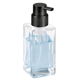 mDesign Glass Refillable Foaming Hand Soap Dispenser Pump