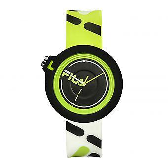FILA 38-6081-002 Gemengde Horloges - Groene Siliconen Armband