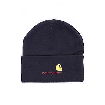 Unisex carhartt hoed wip Amerikaanse script beanie i025386.1c