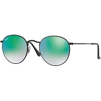 Ray-Ban Round Metal Cateye Sunglasses RB3447-002/4J