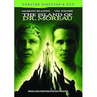 Île du docteur Moreau: du directeur Unrated Cut [DVD] USA import