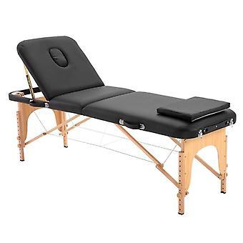 Mesa de masaje portátil, cama de sofá de belleza ligera y plegable