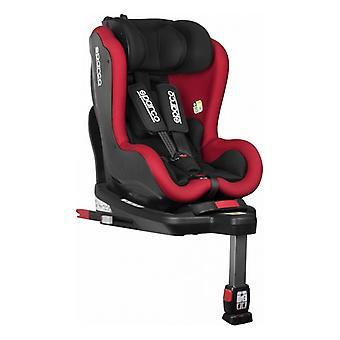Chaise de voiture Sparco SK500 Noir/Rouge