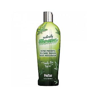 Pro Tan Radically Hemp 10x Dark Tanning Gelee Accelerator Lotion - 250ml