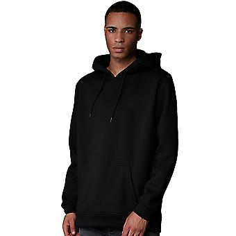 Cotton Addict Mens Basic Comfort Fit Oversized Hoodie