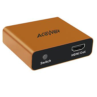 HDMI Splitter 1 Input 2 Output 4K 1 To 2 Amplifier For Full HD 1080P