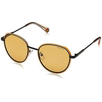 Polaroid PLD 6114/S Sunglasses, Yellow, 51 Unisex-Adult