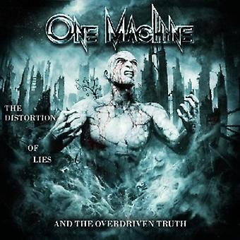 One Machine - Distortion of Lies & the Overdrive [CD] USA import
