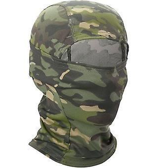 Multicam Cp Camouflage Full Face Sjaal Militaire Tactische Cap