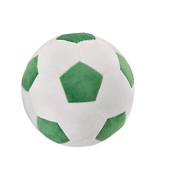 20 * 20Cm vert + blanc amusant jouets de football pour enfants adaptés aux hommes et aux femmes de tous âges az9655