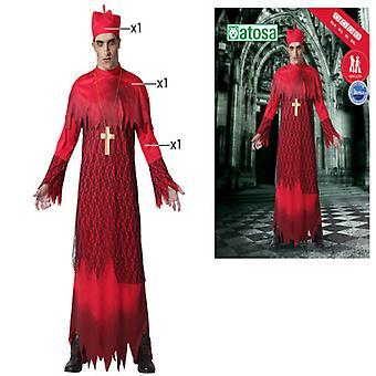 Fantasia para adultos Halloween Cardeal Vermelho