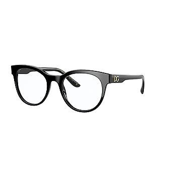 Dolce&Gabbana DG3334 501 Óculos Pretos