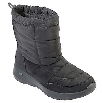 Womens Skechers On The Go Stay Cozy Lightweight Winter Durable Nylon Boot -