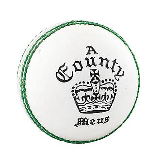 Læsere County Crown Cricket Ball White - Unge