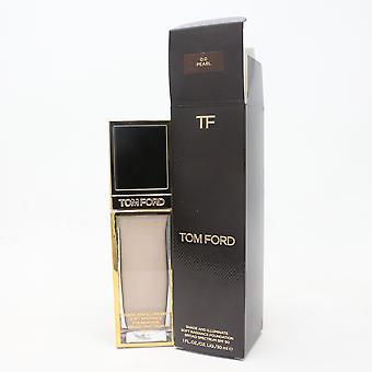 Tom Ford Shade i oświetlać Soft Radiance Foundation 1.0oz/30ml Nowy z pudełkiem