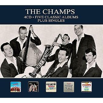 The Champs - Five Classic Albums Plus Singles CD
