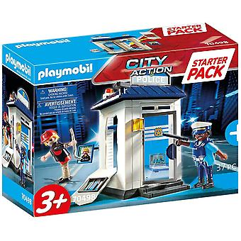 Playmobil City Action Starter Pack Police Station Playset