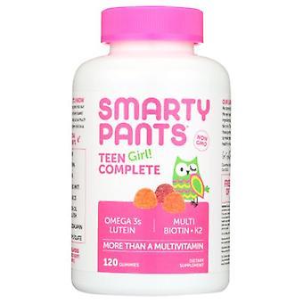 SmartyPants Teen Girl Complete Gummy Vitamins, 120 Count