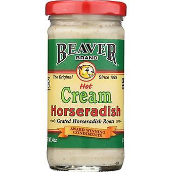 Beaver mierikswortel cream stijl, geval van 12 X 4 Oz