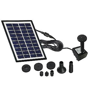 2 W Solar Water Pump Outdoor Watering Submersible Water Fountain For Pond Pool Aquarium Fountains Spout Garden Patio Maximum Flow 150l/h