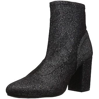 Kenneth Cole REACTION Women's Time for Fun Stretch Material Heeled Ankle Bootie Boot