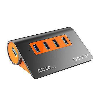 USB 3.1 Gen2 HUB aluminiu USB HUB PC Splitter 10Gbps Super Speed Cu adaptor de alimentare de 12V pentru Lenovo