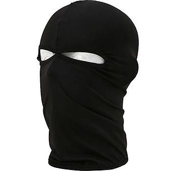 (Black) Balaclava Helmet Winter Sas Style Army Windproof Neck Warm Full Face Mask