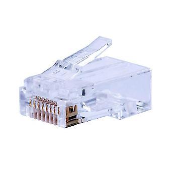 T3 Innovación UTP RJ45 CAT5E Solid Snap Plug 100 Pack